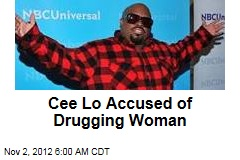 Cee Lo Accused of Drugging Woman
