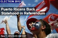 61% of Puerto Ricans: Make Us 51st State