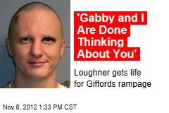 Gabby Giffords Doesn't Speak at Loughner Sentencing