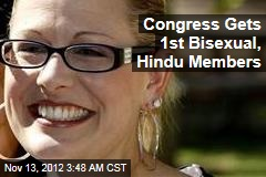 Congress Gets 1st Bisexual, Hindu Members