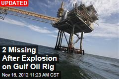 Injuries Reported in Fire on Gulf Oil Rig