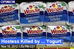 Hostess Killed by ... Yogurt