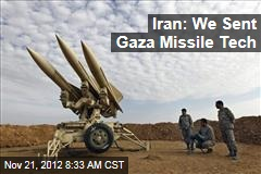 Iran: We Sent Gaza Missile Tech