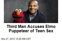 Third Man Accuses Elmo Puppeteer of Teen Sex