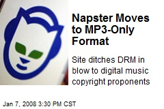 Napster Moves to MP3-Only Format