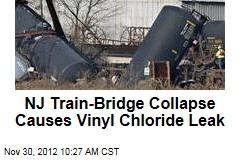 NJ Train-Bridge Collapse Causes Vinyl Chloride Leak