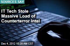 IT Tech Stole Massive Load of Counterterror Intel