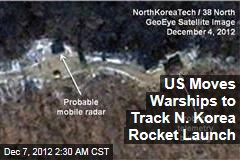 US Directs Warships to Track N. Korea Rocket Launch