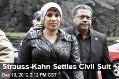 Strauss-Kahn Settles Civil Suit