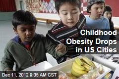 Childhood Obesity Drops in US Cities