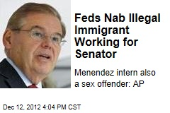 Feds Nab Illegal Immigrant Working for Senator