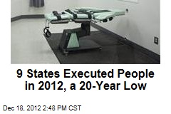9 States Executed People, Lowest in 20 Years