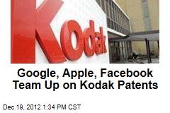 Google, Apple, Facebook Team Up on Kodak Patents