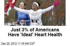 Just 3% of Americans Have 'Ideal' Heart Health