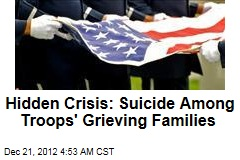 Hidden Crisis: Suicide Among Troops' Grieving Families