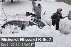 Midwest Blizzard Kills 7