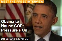 Obama to House GOP: Time to Move