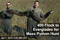 400 Sign Up for Everglades Python Hunt