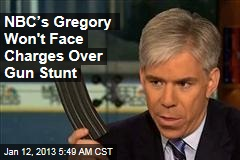 NBC's Gregory Won't Face Charges Over Gun Stunt