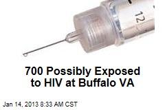 700 Possibly Exposed to HIV at Buffalo VA