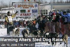 Warming Alters Sled Dog Race