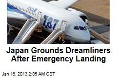 Japan Grounds Dreamliners After Emergency Landing