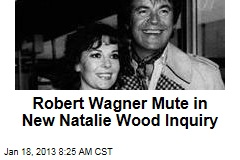 Robert Wagner Mute in New Natalie Wood Inquiry