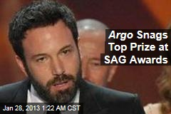 Argo Takes Top Prize at 2013 Sag Awards
