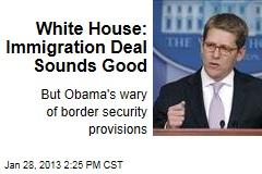 White House: Immigration Deal Sounds Good