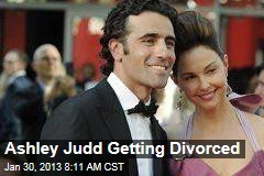 Ashely Judd Getting Divorced