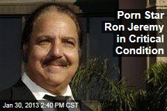 Porn Star Ron Jeremy in Critical Condition