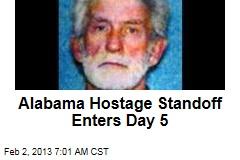 Alabama Hostage Standoff Enters Day 5
