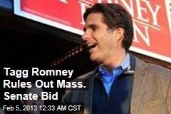 Romney Son Rules Out Senate Bid