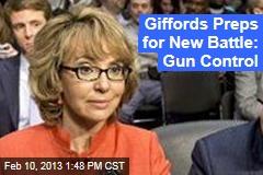 Giffords Preps for New Battle: Gun Control