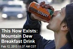 This Now Exists: Mountain Dew Breakfast Drink