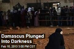Damascus Plunged Into Darkness