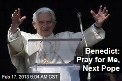 Pope Blesses Masses 1st Time Since Resigning