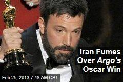 Iran Fumes Over Argo 's Oscar Win