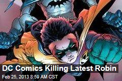 DC Comics Killing Latest Robin
