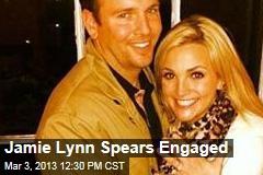 Jamie Lynn Spears Engaged
