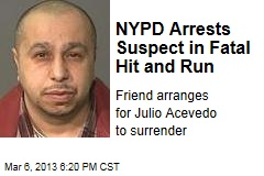 NYPD Arrests Suspect in Fatal Hit and Run