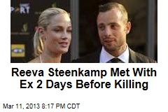 Steenkamp Met With Ex 2 Days Before Killing