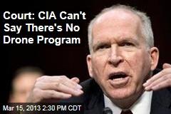 Court: CIA Can't Pretend There's No Drone Program