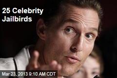 25 Celebrity Jailbirds