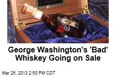 Mount Vernon Selling Whiskey Using Recipe of George Washington