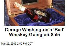 Mount Vernon Selling Whiskey Using Recipe of George Washington