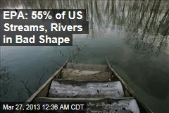 EPA: Over Half of US Streams, Rivers in Bad Shape