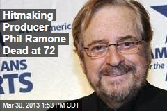 Hitmaking Producer Phil Ramone Dead at 72