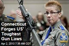 Conn. Lawmakers Forge Nation's Toughest Gun Laws