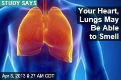 Your Heart, Lungs May Be Able to Smell